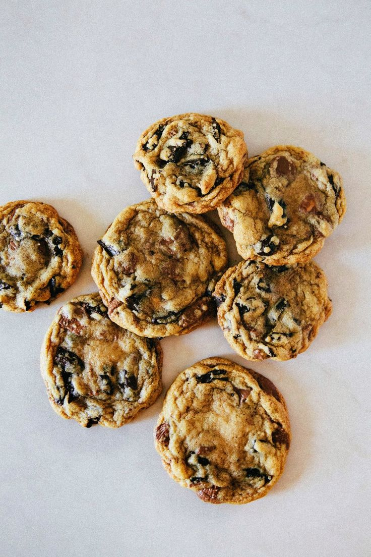Chocolate Chip and Peanut Butter Cup Cookies