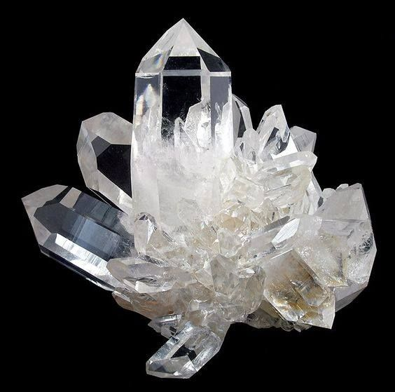 Clear Quartz from the Coleman Mine, near Jessieville, Garland County, Arkansas, USA