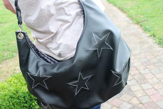 Handtasche Hanny aus Kunstleder genäht