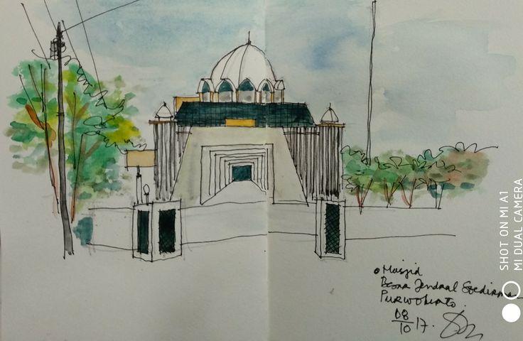 Masjid Besar Jendral Sudirman Purwokerto