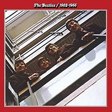 """Beatles 1962–1966 (also known as """"The Red Album"""") is a compilation record of songs by the English rock band The Beatles, spanning the years indicated in the title.  Released with its counterpart 1967–1970 (""""The Blue Album"""") in 1973, it reached number 3 in the United Kingdom and number  3 on Billboard in the United States"""