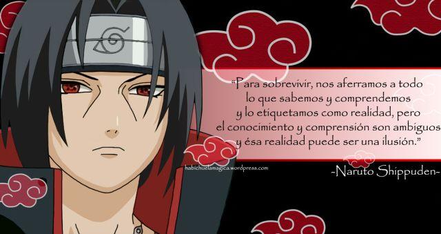 """Naruto Shippuden """"HITASHI"""" Frases"""