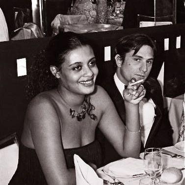 Actress Diahnne Abbott with then husband Robert De Niro