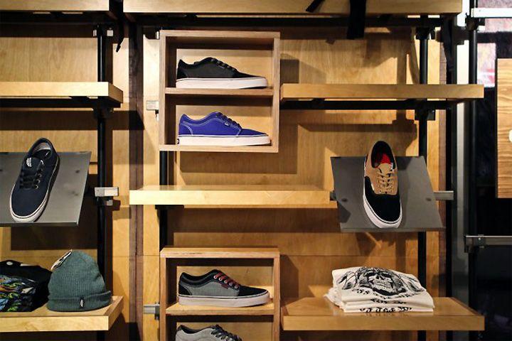 Vans x Slam City Skates store, London store design