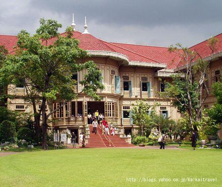 バンコク・ウィマンメーク宮殿。タイのおすすめ観光名所