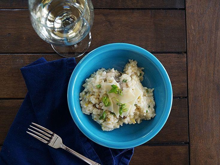 Cremini Mushroom and Leek Risotto | Recipes | Pinterest