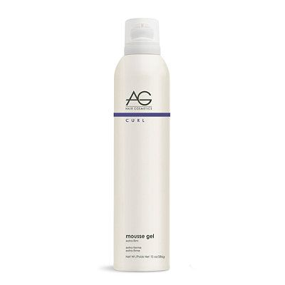 Curl Mousse Gel Extra Firm Curl Retention Mousse Curly