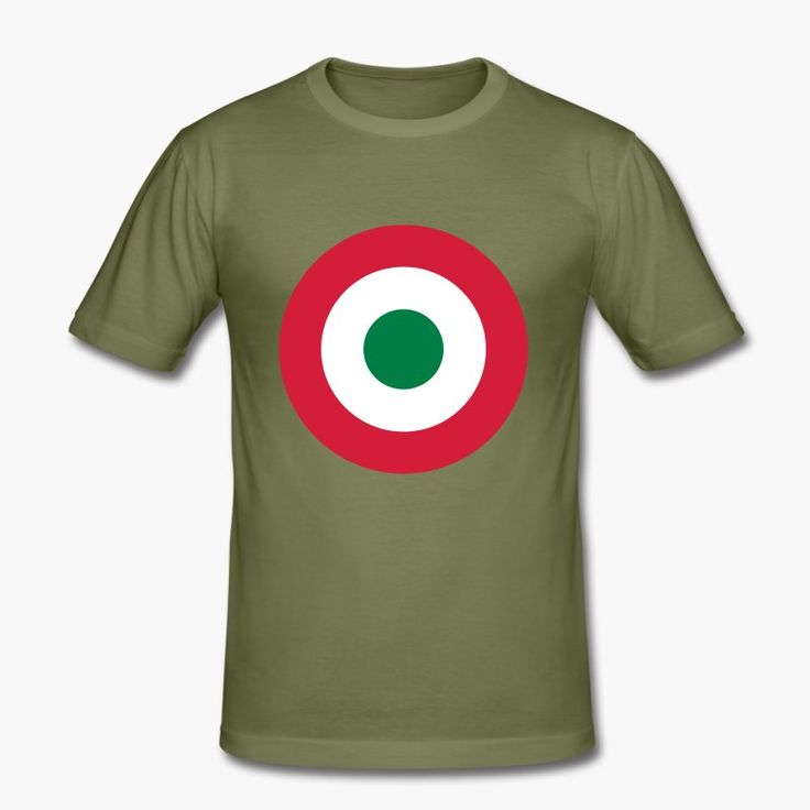 "Italia - Italy with a military twist. The shirt sports the Italian air force (Aeronautica miltare) roundel. https://shop.spreadshirt.fi/revolt-noir/""italia""-A106381500?appearance=248"