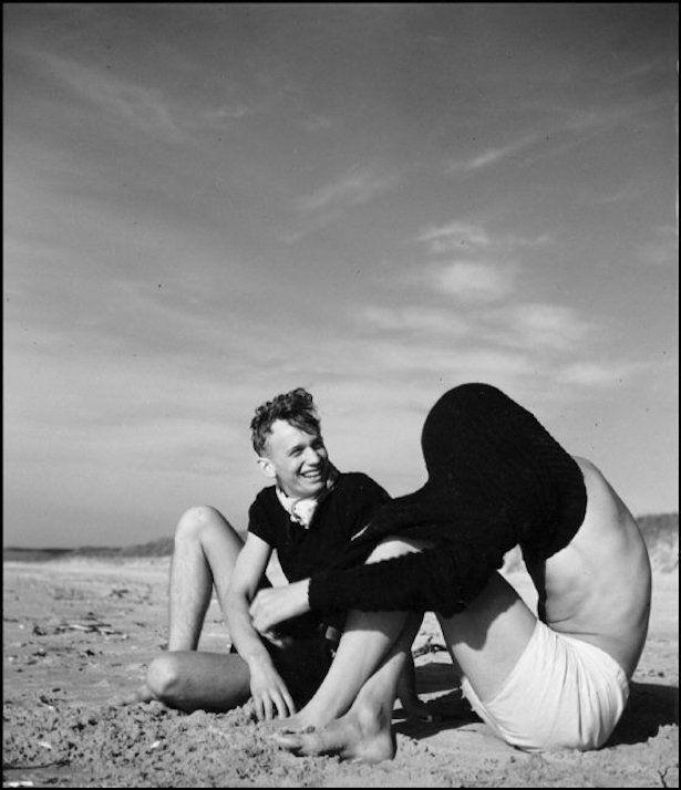 Herbert List: Bathers, North Sea (1934)