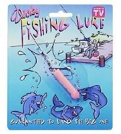 "Great Gag Gift for the Fisherman on your list. Tell them ""Dicky Fishing Lures are  GUARANTEED to catch a MERMAID !"" What fisherman wouldn't love to catch a MERMAID ?"
