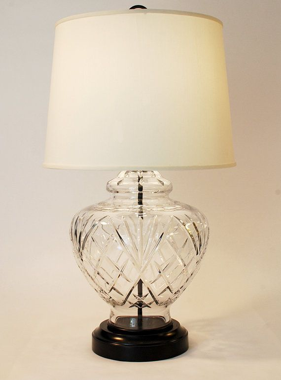Cordless Antique Traditional Cut Crystal And Black