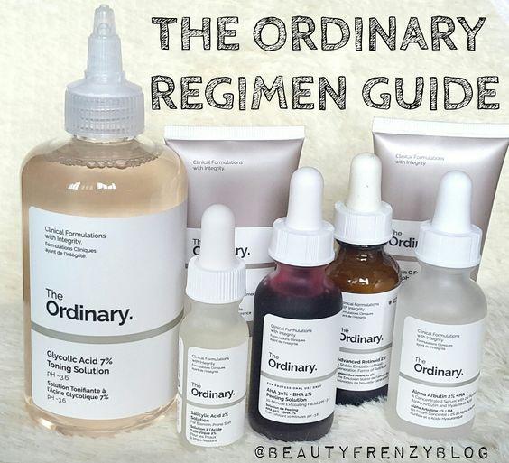 The Ordinary Skincare Regimen Guide – The Ordinary Skincare Regimen for Acne-Prone Skin