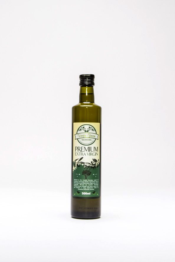 Virgin Green Extra Virgin Olive Oil on Packaging of the World - Creative Package Design Gallery