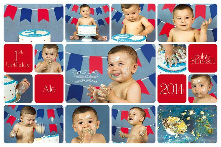 Fotografo Bambini Milano | Cake Smash | Primo Compleanno  Piccoli Ricordi Photography www.piccoliricordi.com  #cakesmash #smashcake #cake #smash