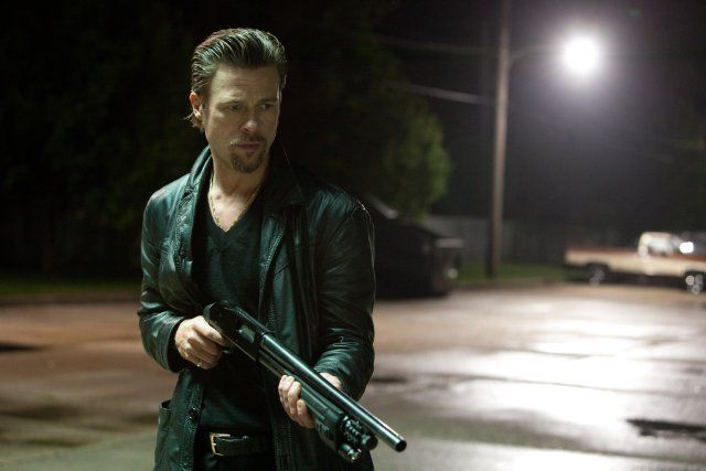 Jackie Cogan is a professional enforcer who investigates a heist that went down during a mob-protected poker game in 'Killing Them Softly'. Starring Brad Pitt, Ray Liotta, and Richard Jenkins.