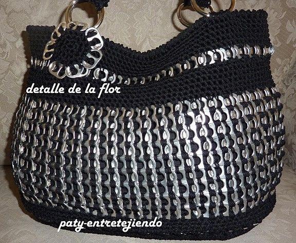 Como hacer una bolsa de anillas de lata: Bolso PracticoParte 1 - Google zoeken