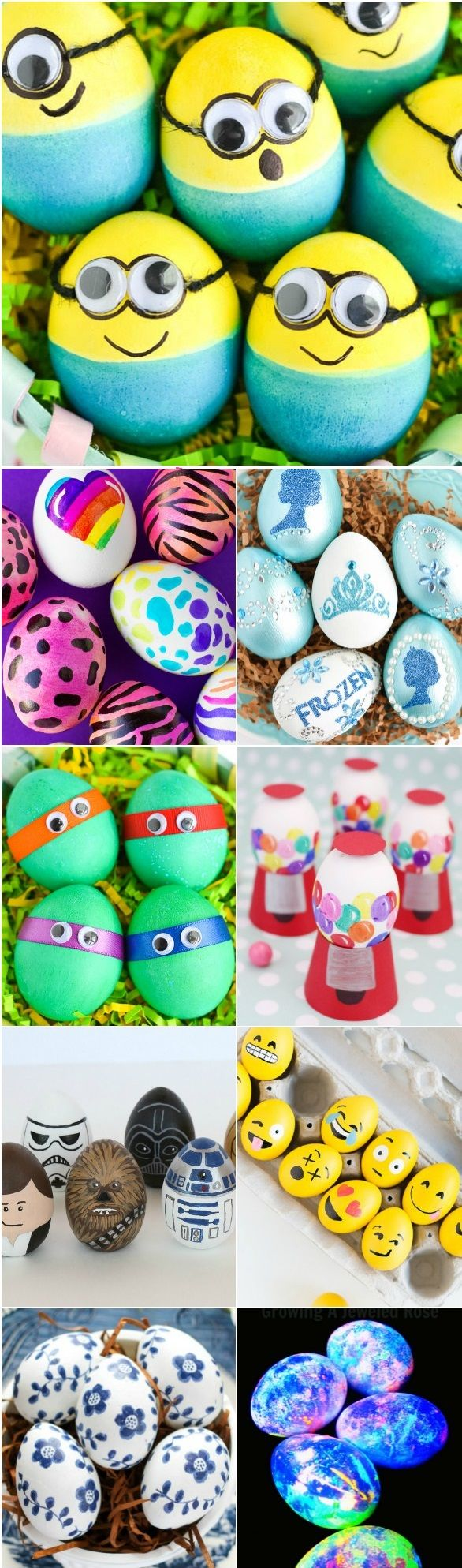 20+ Easter Egg Decorating Ideas