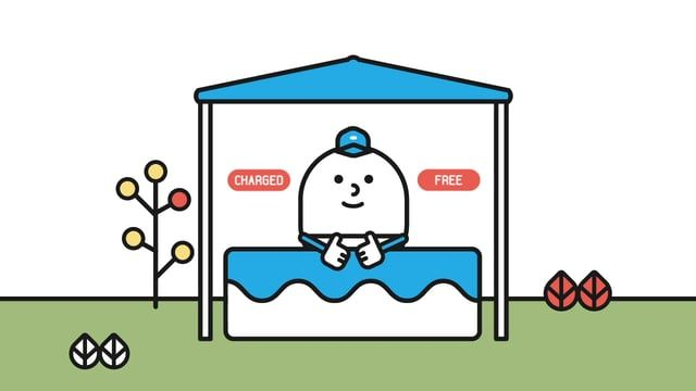 Client: Free B  Produced by Lab.0 (VDAS)  Director/PM : 조영호  - Symbol, Character, Intro Motion Design : 유현정 Application Design : 박연우, 유현정