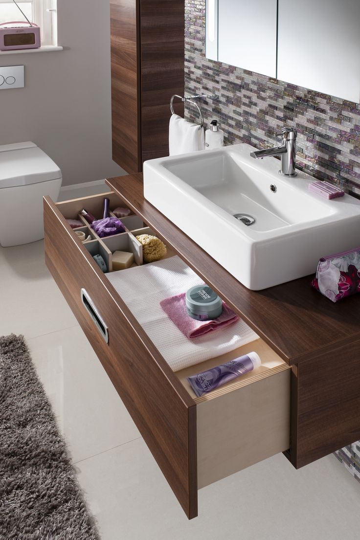 Walnut bathroom furniture uk - Seattle Walnut 120 Bathroom Furniture Unit From Crosswater Http Www Bauhaus