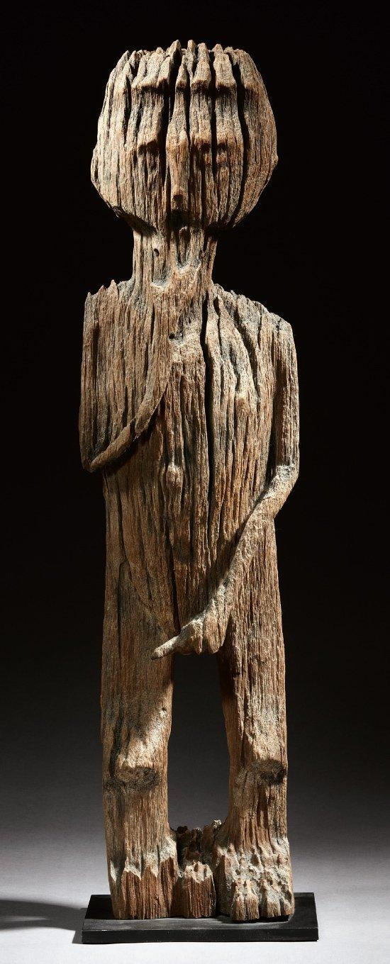 Africa | Wooden sculpture from the Sakalava people of Madagascar | early 20th century