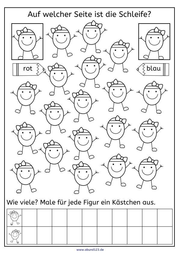Ostern, rechts oder links, Wahrnehmung, Funktion, AFS-Training, AFS-Methode, Legasthenie, Eltern, Kinder, Lehrer, Arbeitsblatt, kostenlos, Schule, Grundschule, Förderschule