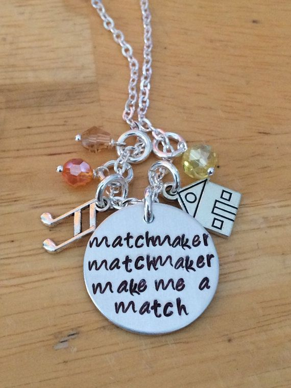 Fiddler On the Roof Matchmaker Matchmaker Make by BloomGirlJewelry