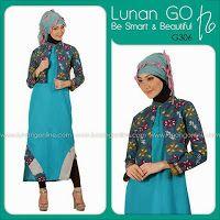 busana cantik faira: Baju muslim batik