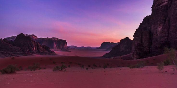 Wadi Rum - Jordanie tourisme