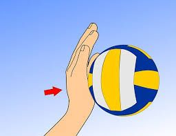 The Wrist Snap / Topspin on USA Volleyball