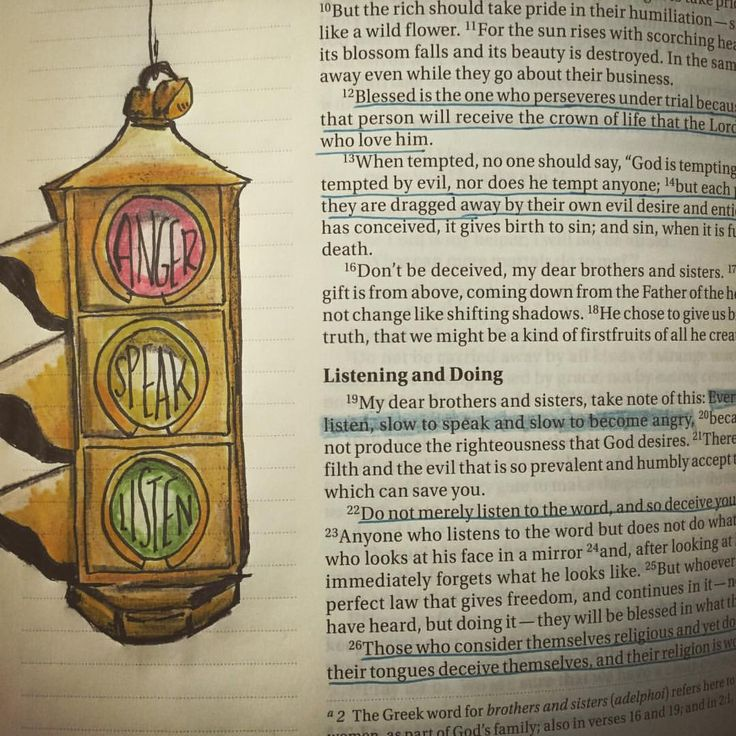 """17 Likes, 1 Comments - Hollie Buchanan (@hioctanechic) on Instagram: """"""""...quick to listen, slow to speak, slow to become angry..."""" #james1v19 #biblejournaling…"""""""