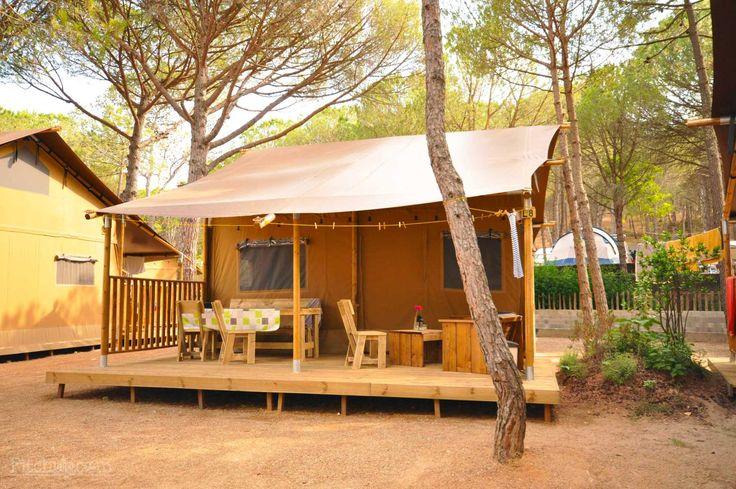 Go safari-style at Camping Neus, Cala Montgó, Gerona - Pitchup.com