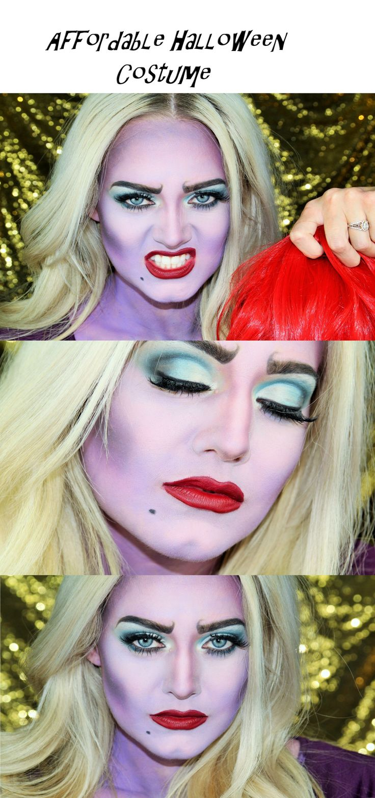 Mommy and Me Ursula Halloween 2017 Makeup Tutorial - Jenessa Sheffield