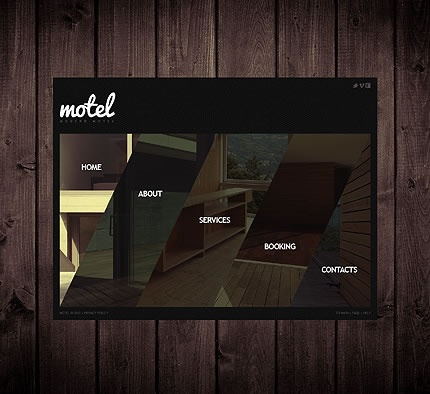 Motel Hotel Website Template