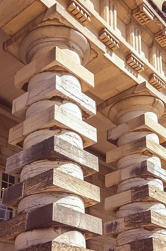 Saline royale d'Arc-et-Senans arch : Claude-Nicolas Ledoux , 1775-79 Maison du directeur