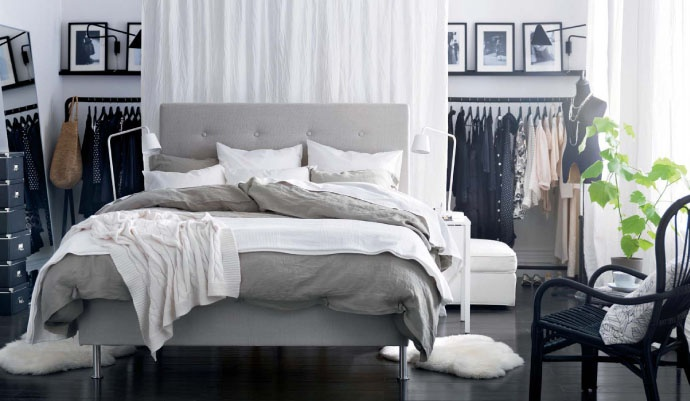 Love the bedding! | Is page 62 of the new IKEA Catalogue your favourite? Pin it to your board for a chance to win an IKEA gift card! Find out more about our Pin & Win contest here: http://ikea-canada.com/RR