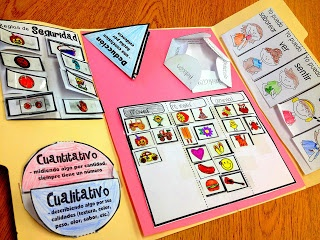 Our scientific method lapbooks - great way to organize information and review
