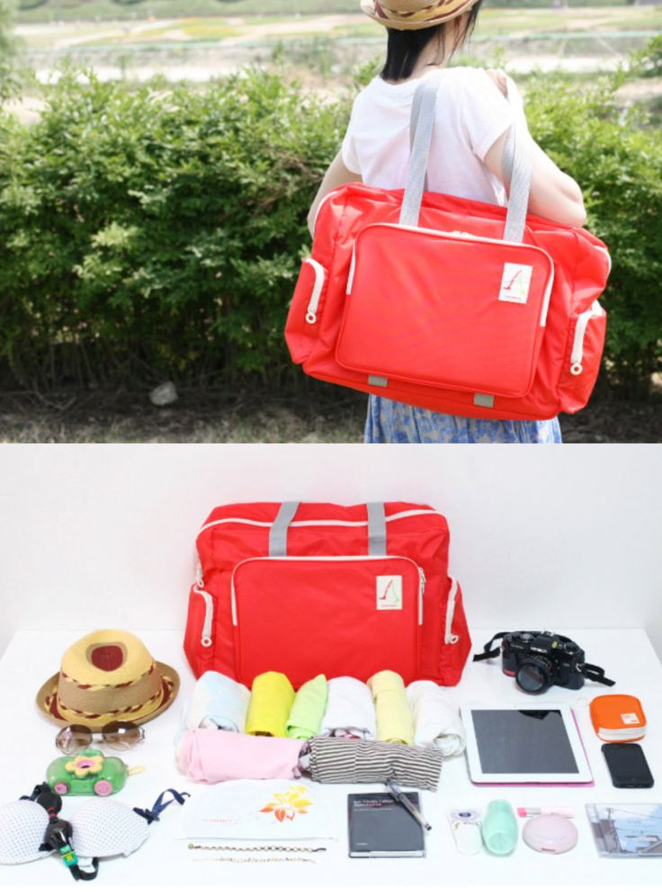 Check out this Spacious & Functional Better Together Travel Bag! You can use the Better Together Travel Bag to carry your luggage for a weekend trip or as a school bag to carry your books and even daily items too! It's also amazing for the prepared mom and dads too as this is incredibly spacious as a diaper bag + large storage area for other essential kiddo items! It's also a great sports bag or gym bag, and just so many other possible usages!