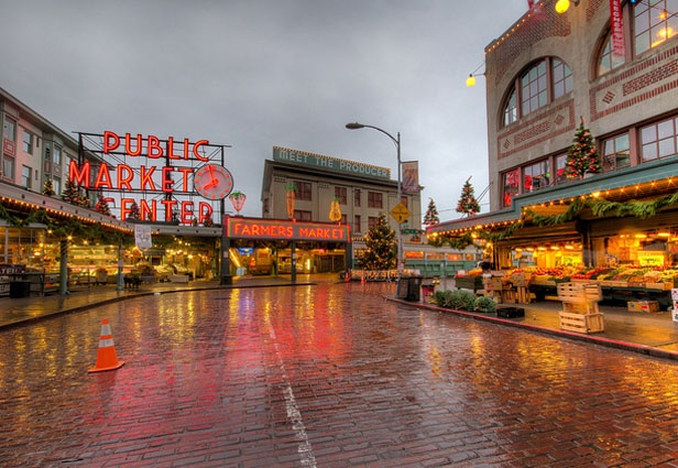 Pike Place Market in Seattle!