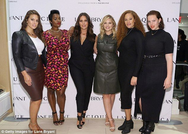 Lane Bryant, Ashley Graham and Candice Huffine launch #PlusIsEqual #dailymail
