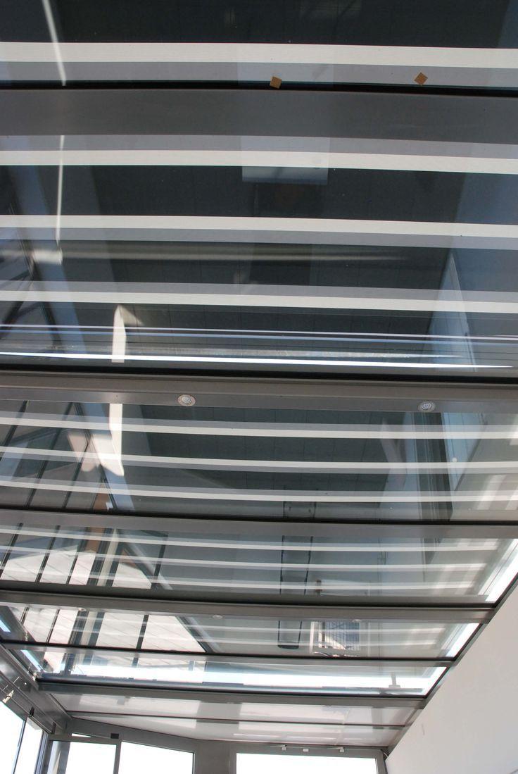 Wintergarten Mit Led Beleuchtung Und Glasdachmarkise Elektrisch Glasdach Glasschiebetur Wintergarten