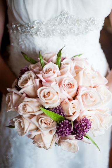 sweet & soft vintagey bridal bouquet ~ pale pink roses: Pink Roses, Wedding
