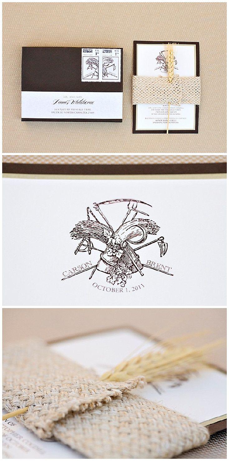 27 best INVITATIONS FOR BARN WEDDINGS images on Pinterest | Wood ...