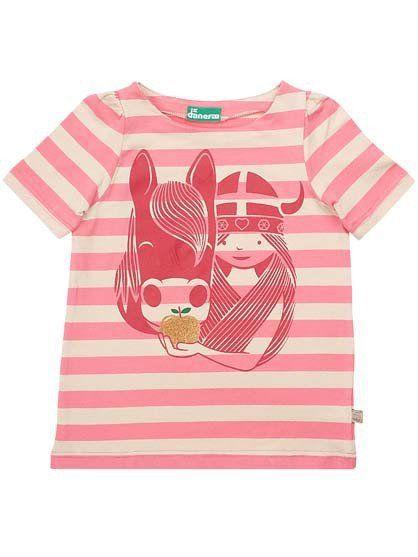 Vivi Tee | Danefae | Danish clothing brand | kids clothes | kids fashion | girls cotton tee shirt