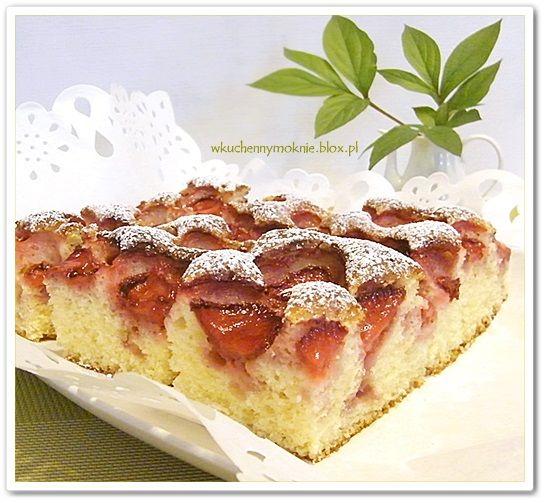 najszybsze ciasto z truskawkami