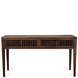 Modern Gatherings Open Slat Sofa Table I Riverside Furniture
