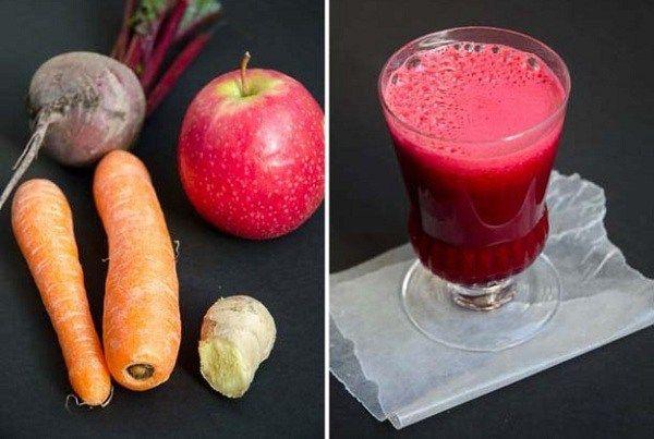 3-składnikowy sok, który zapobiega i rozprawia się z takimi patologiami jak nowotwór, choroby nerek i nie tylko.