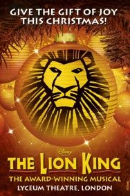 the lion king they have tickets for wednesday evening