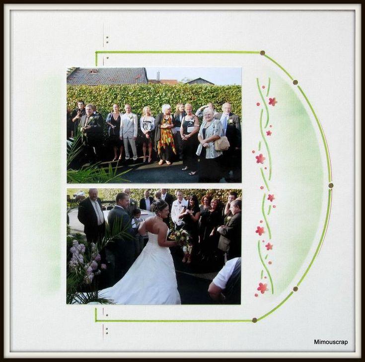 Mariage - bouquet - Le scrap européen de Mimouscrap