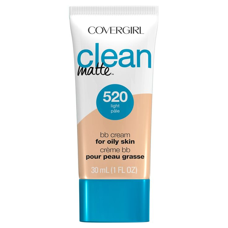 Covergirl Clean Matte BB Cream 520 Light 1oz