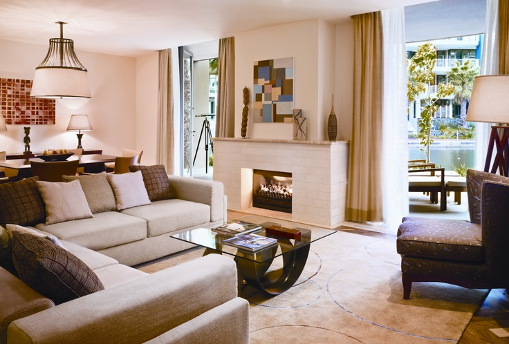 One&Only Cape Town, Bedroom Island suite lounge